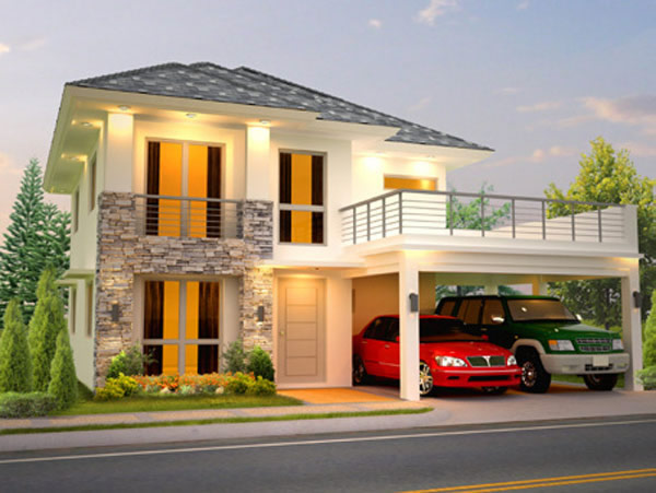 Highlands pointe at havila filinvest land for Terrace roof design philippines